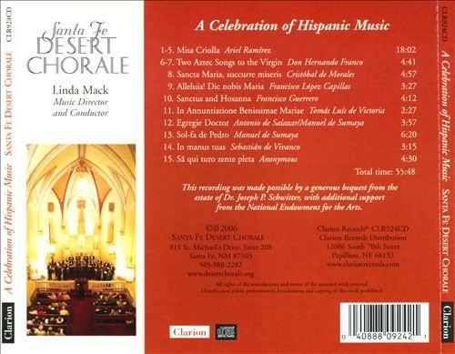 A Celebration of Hispanic Music