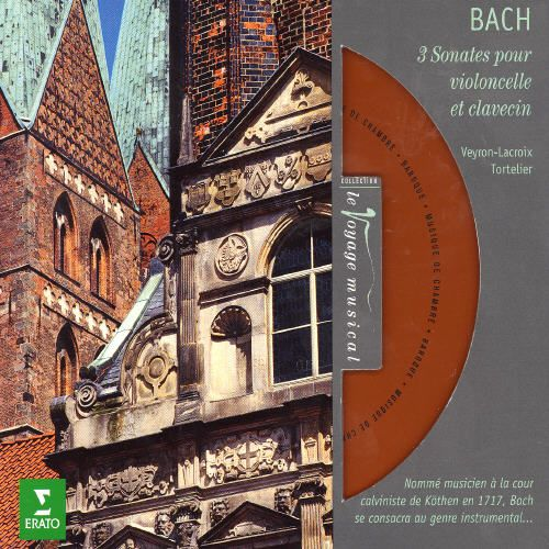 Bach: 3 Sonatas pour violoncelle et clavecin