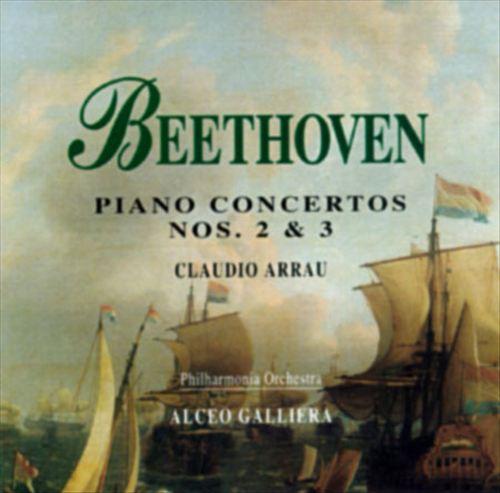 Beethoven: Piano Concerto Nos.2 & 3