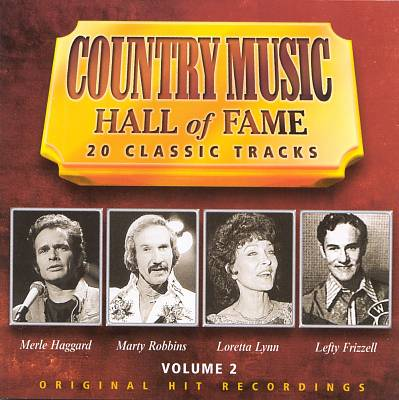 Country Music Hall of Fame, Vol. 2 [Telstar]