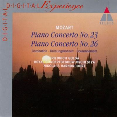 "Mozart: Piano Concertos Nos. 23 & 26 ""Coronation"""