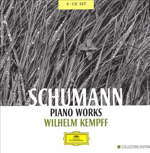 Schumann: Piano Works [4 CDs]