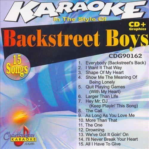 Chartbuster Karaoke: Backstreet Boys
