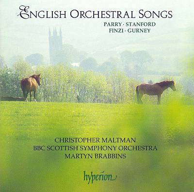 English Orchestral Songs