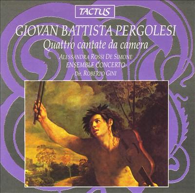 Pergolesi: Quattro cantate da camera, Op. 2