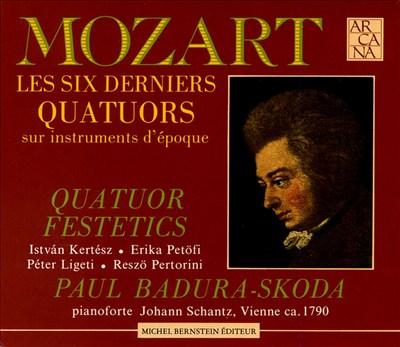 Mozart: The Last Six Quartets