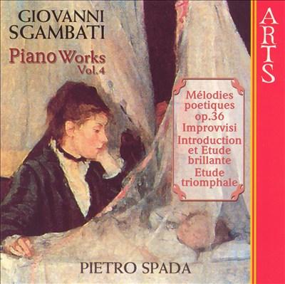 Giovanni Sgambati: Complete Piano Works, Vol. 4