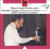 Mozart: Fantaisie et Sonate en ut mineur KV 475 et 457; Liszt: Sonate in si mineur