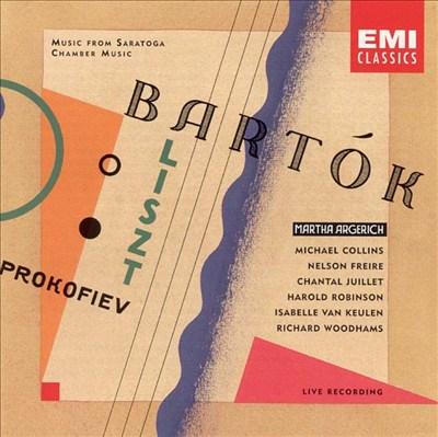 Music from Saratoga: Bartók, Liszt, Prokofiev