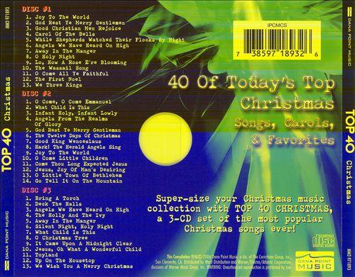 Top 40 Christmas [Dana Point]