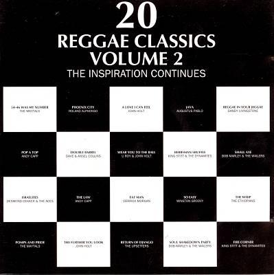 20 Reggae Classics, Vol. 2: Inspiration Continues