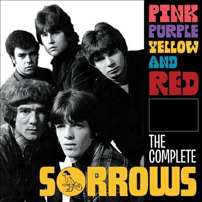 粉红色,紫色,黄色和红色:完整的悲伤