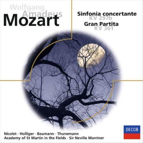 Mozart: Sinfonia Concertante KV 297b; Gran Partita KV 361
