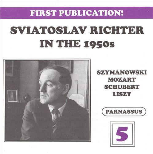 Sviatoslav Richter in the 1950s, Vol. 5