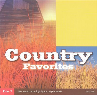 Country Favorites-Disc 1