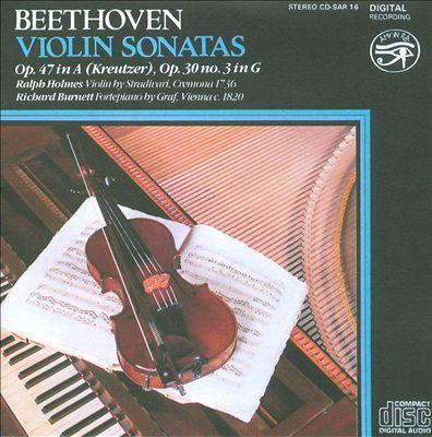 Beethoven: Violin Sonatas Op. 47 (Kreutzer), Op. 30