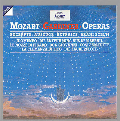 Mozart: Opera Excerpts
