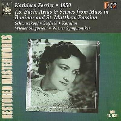 J.S. Bach: Arias & Scenes from Mass in B minor and St. Matthew Passion