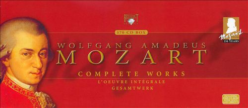Wolfgang Amadeus Mozart: Complete Works