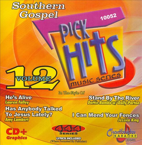 Chartbuster Karaoke: Southern Gospel Pick Hits, Vol. 12