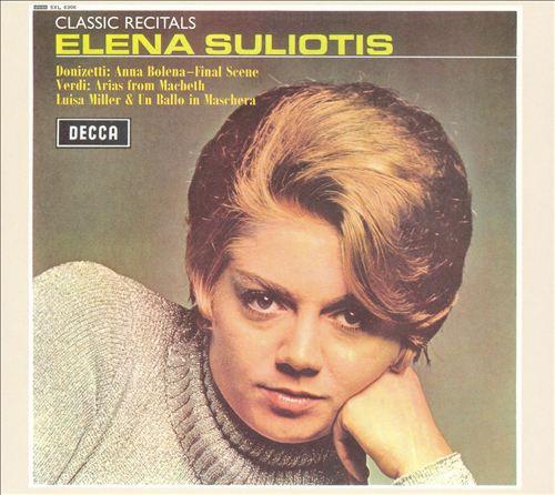 Classic Recitals: Elena Suliotis