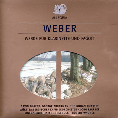 Weber: Clarinet Concertos; Etc. [Germany]