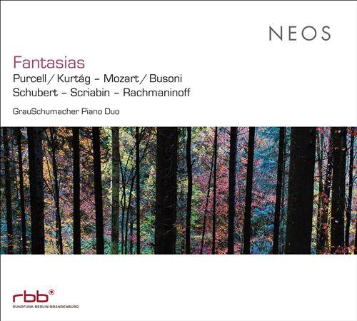 Fantasias: Purcell/Kurtág, Mozart/Busoni, Schubert, Scriabin, Rachmaninoff