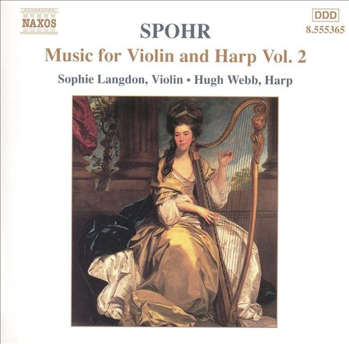 Spohr: Music for Violin and Harp, Vol. 2