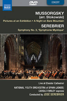 Mussorgsky: Pictures at an Exhibition; A Night on Bare Mountain; Serebrier: Symphony No. 3 [DVD Video]