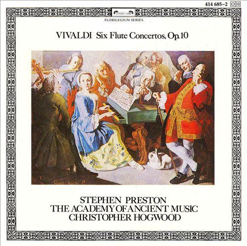 Vivaldi: Six Flute Concertos, Op. 10