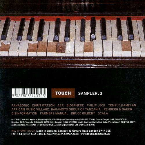 Touch Sampler, Vol. 3