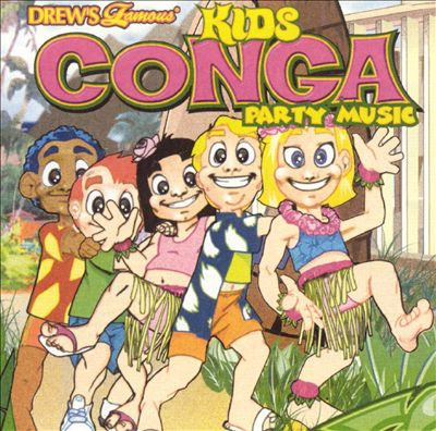 Drew's Famous Kids Conga Party Music
