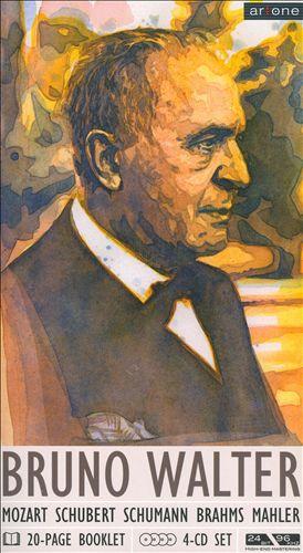 Bruno Walter conducts Mozart, Schubert, Schumann, Brahms & Mahler