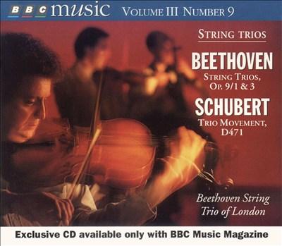 Beethoven & Schubert: String Trios