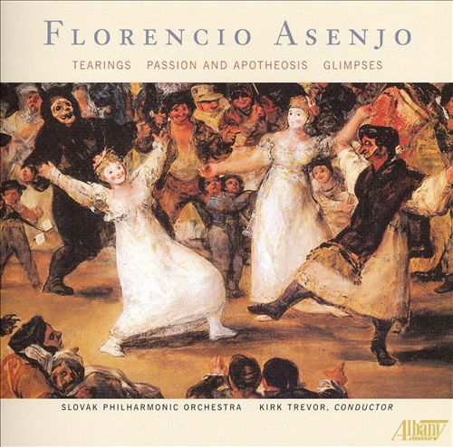 Florencio Asenjo: Tearings; Passion and Apotheosis; Glimpses