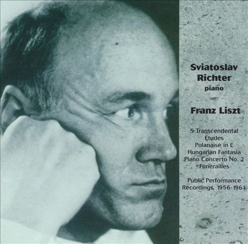 Richter Plays Liszt, Live 1956-1961