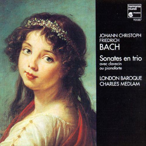 Johann Christoph Friedrich Bach: Sonates en Trio