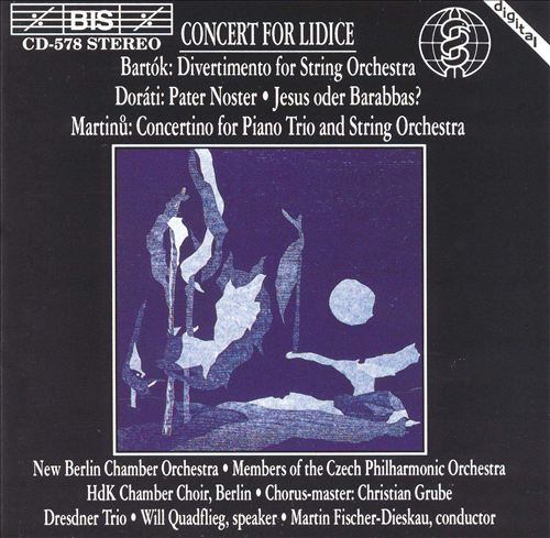 Concert for Lidice