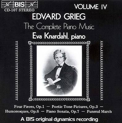 Grieg: The Complete Piano Music, Vol. 4