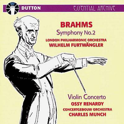 Brahms: Symphony No. 2; Violin Concerto in D