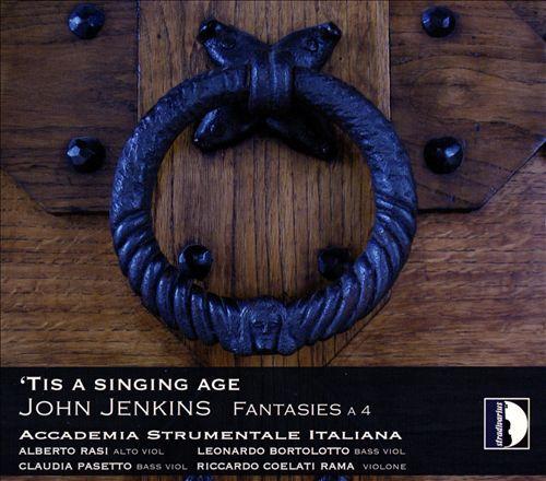 John Jenkins: 'Tis a Singing Age - Fantasies A 4