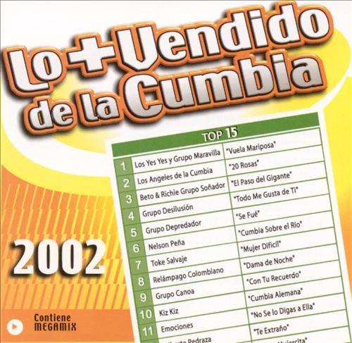 Lo + Vendido de la Cumbia 2002