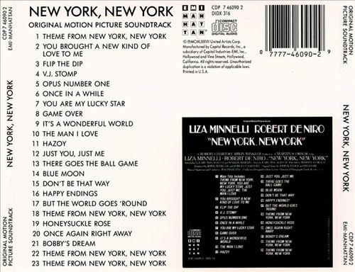 New York, New York [Original Soundtrack]