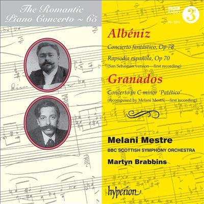 The Romantic Piano Concerto, Vol. 65: Albéniz, Granados