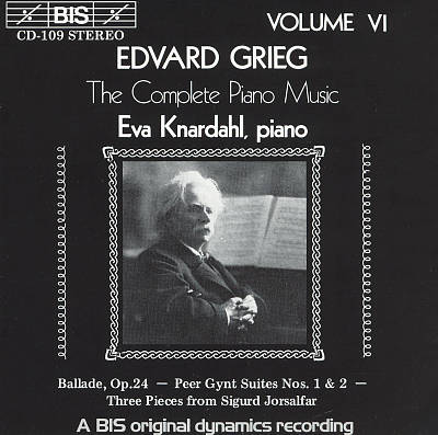 Grieg: The Complete Piano Music, Vol. 6