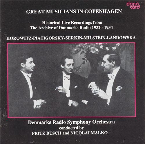 Great Musicians in Copenhagen