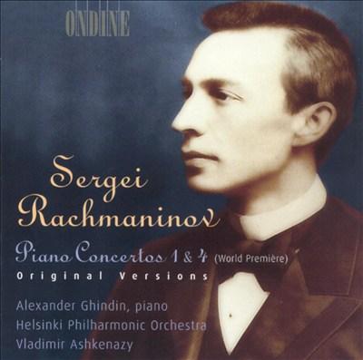 Rachmaninov: Piano Concertos Nos. 1 & 4 (Original Versions)