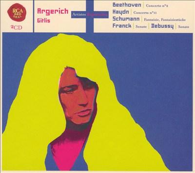 Beethoven: Concerto No. 2; Haydn: Concerto No. 11; Schumann: Fantaisie; Fantisiestücke; etc.