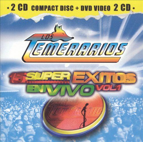 15 Super Exitos en Vivo [CD & DVD]