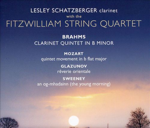 Brahms: Clarinet Quintet; Mozart: Quintet movement in B flat